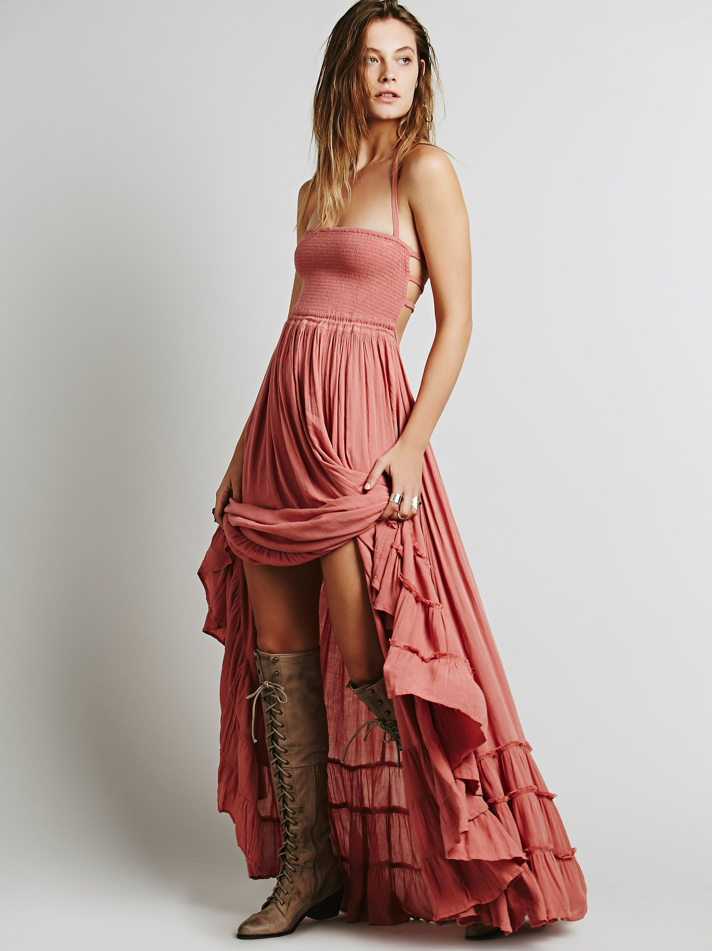Fashion style Chic bohemian hippie styles by free people for woman