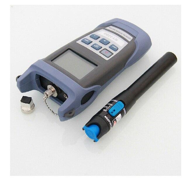Волоконно-Оптические RY3200 Ручка Оптический Измеритель Мощности-50 ~ + 26 дбм и 5 км 1 МВт Визуальный Дефектоскоп локатор Волоконно-Оптический Кабель