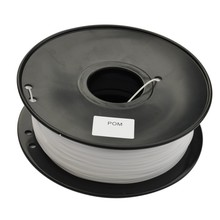 1 75mm 1KG Roll POM Filament Plastic Wire for 3d printer consumables