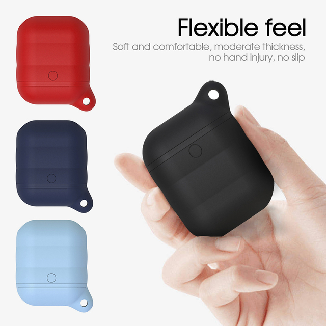 Waterproof TPU Silicone AirPod Case Cover 1