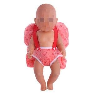 Image 4 - Pop Outdoor Carrying Pop Rugzak Fit 43Cm Baby Reborn Pop Kleding Accessoires Meisjes Speelgoed Generatie Verjaardagscadeau Rusland Diy