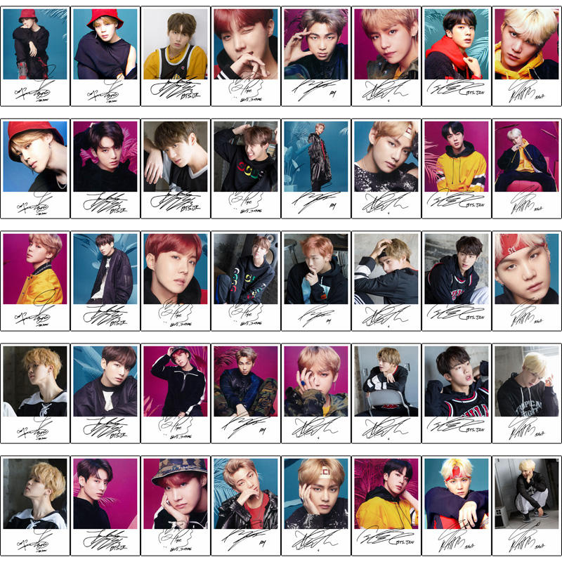 BTS Face Yourself Photocards