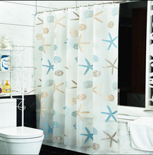 Shower curtain thickening waterproof eva shower curtain bathroom curtain partition curtain