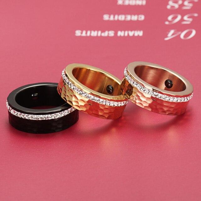 Купить welmag модные 80 мм широкие гематитовые магнитные кольца для