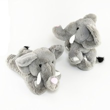 13 Super Kawaii Wrist Baby Elephant With Bending Function & Stuffed Toys elephant Forest Animals Tied Hands