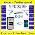Wireless Intercom Doorbell Phone Remote Unlocking 720P IP Camera PIR Visual Door Ring 64GB TF Card WIFI Video Door Phone D299A
