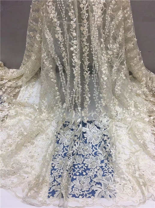 Royal Blue Embroider Lace Dress Fabric African Wedding Lace Materials African Swiss Lace Fabric High Quality