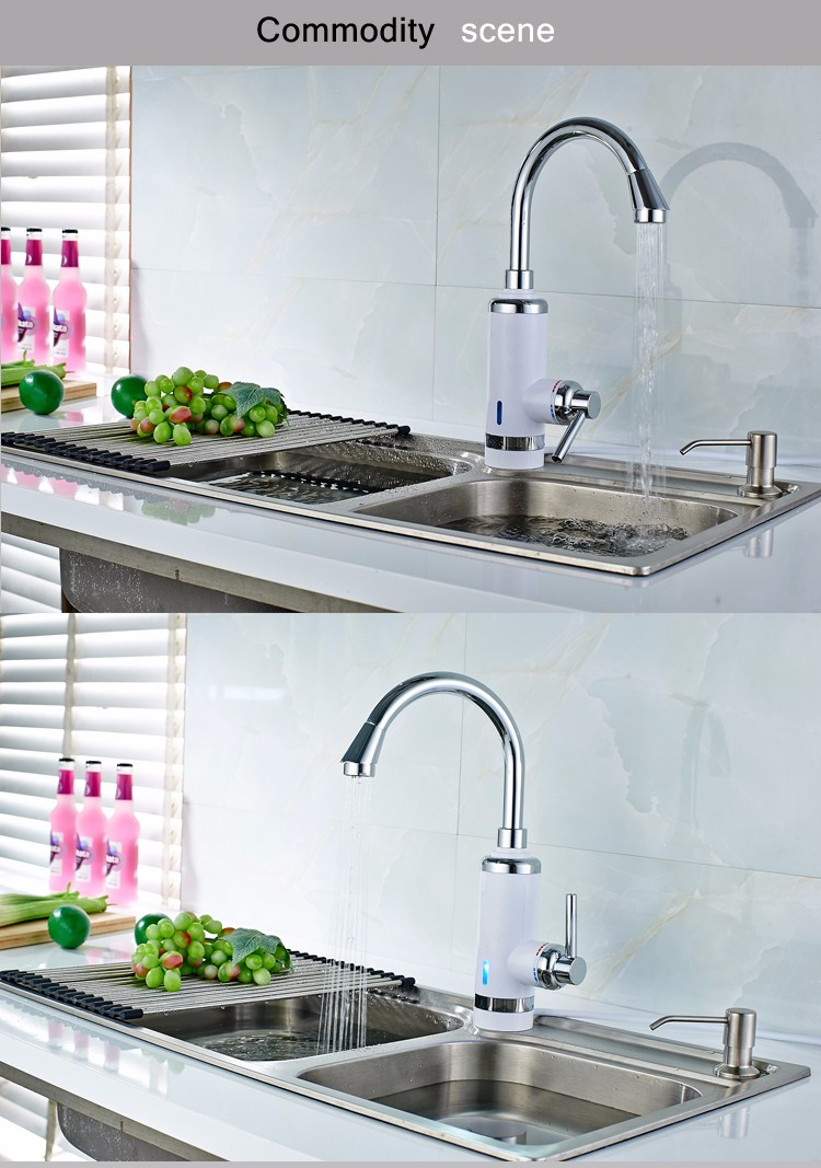 Russia free shipping High Quality Kitchen Faucet Electric ...