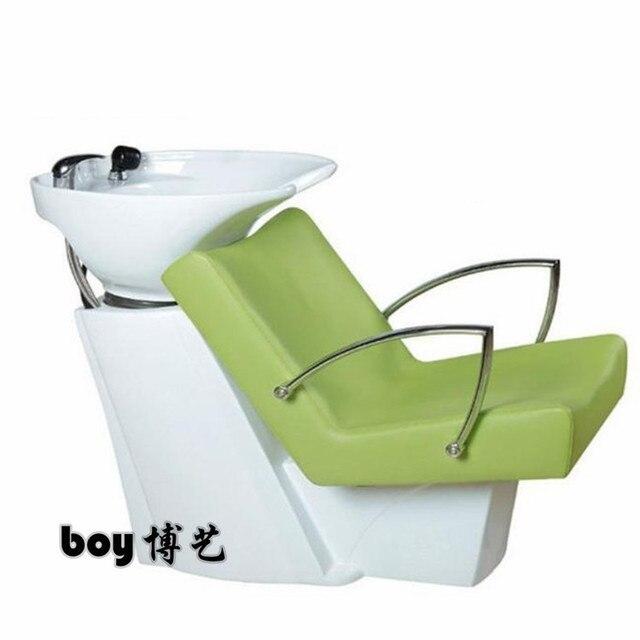 Thai factory direct sale. Hair salon shampoo bed. Half lying shampoo bed.
