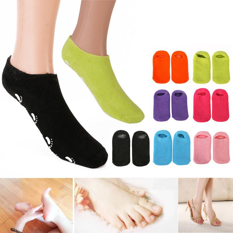 Foot Mask Whitening Exfoliating Gloves Spa Gel Socks Maquiagem Makeup Beauty Moisturizing Hand Mask Feet Care Ageless цена