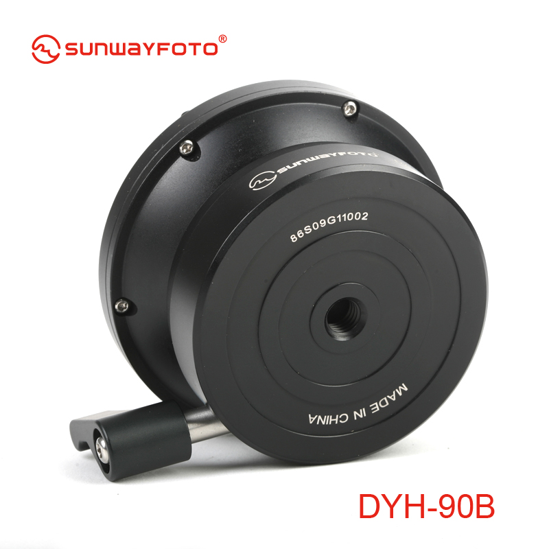 SUNWAYFOTO DYH-90B DSLR fotoaparato lygio trikojis Tripodinis - Fotoaparatas ir nuotrauka - Nuotrauka 5