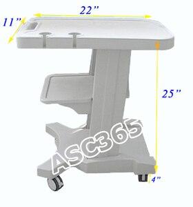 Image 1 - Mobiele Trolley Winkelwagen voor Draagbare Ultrasound Voor Medische Onderzoek