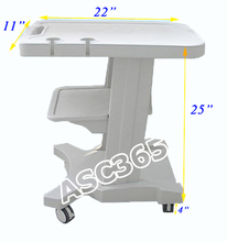 Mobile  Trolley Cart for Portable Ultrasound For Medical  Research
