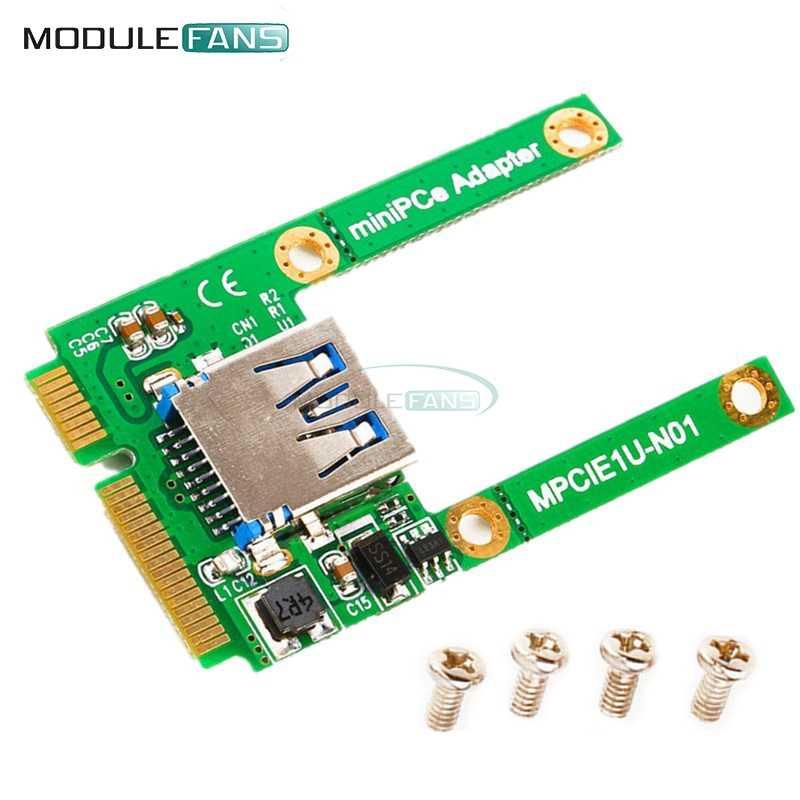 ミニ Pci-E カードスロット拡張モジュールボードに USB 2.0 インタフェースアダプタライザーカード