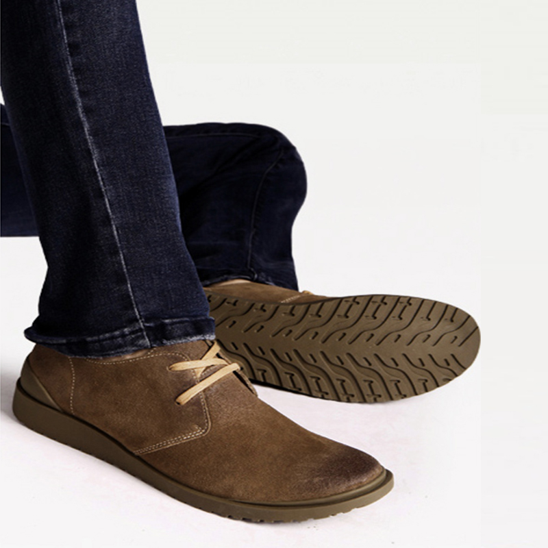 men leather shoes summer casual derby outdoor flats men handmade laces  black shoes for men 2019 brown spring shoes