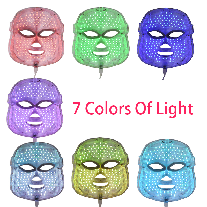 Home Use Photon Korean LED Photodynamic Facial Mask Beauty Instrument Anti Acne Skin Rejuvenation Led Mask Facial Treatment гель с блестками перламутровый 5 цветов 21с1389 08