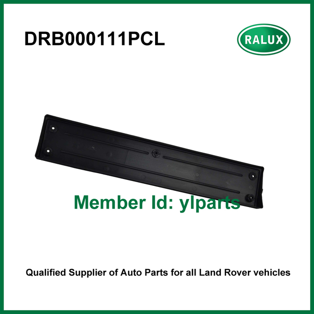 DRB000111PCL auto front license plate fits for LR Range Rover Sport 2005-2009 car license plate spare parts quality China supply