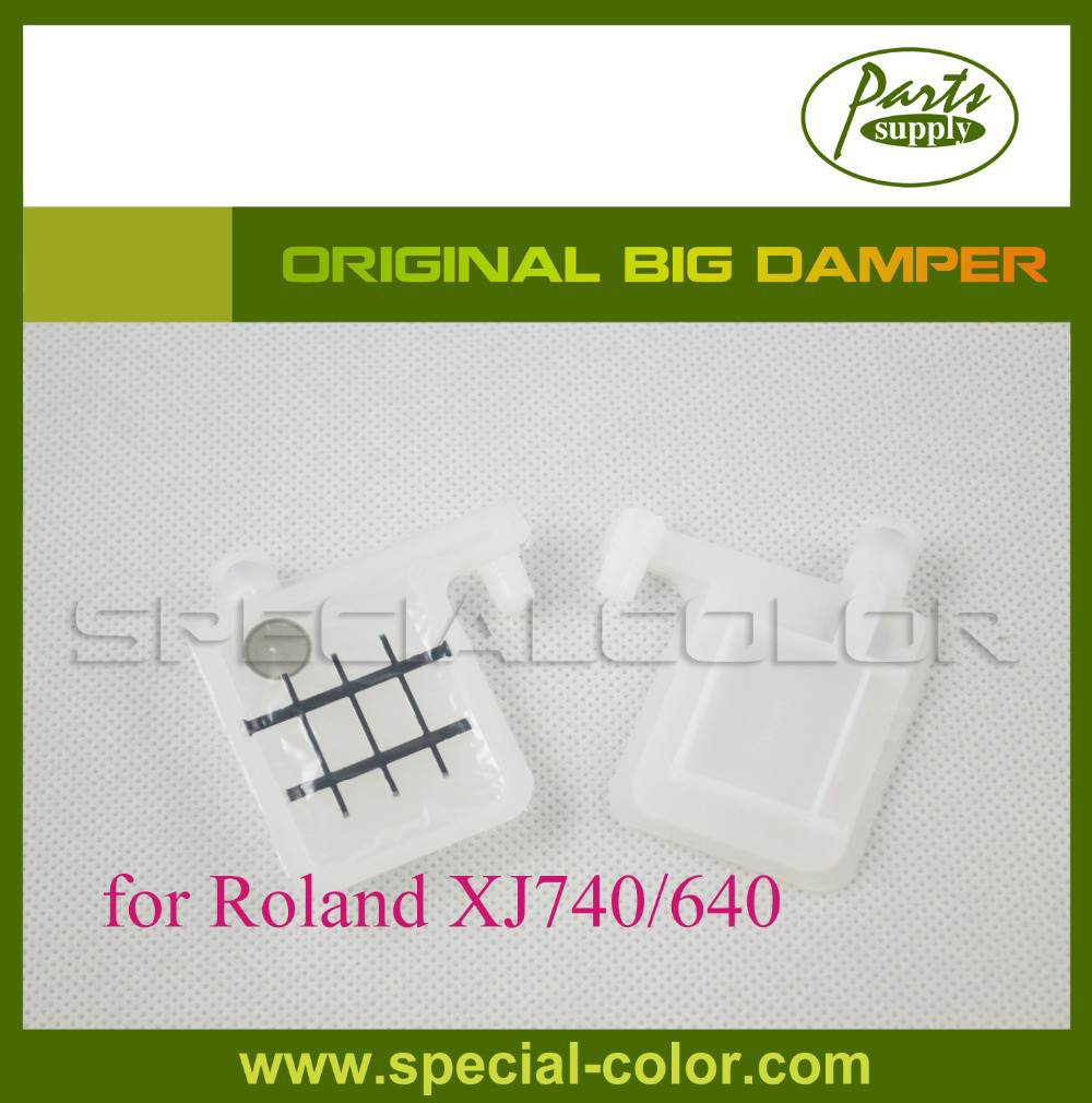 100% Original Big Damper without Adapter Large Damper for Roland SJ1000,VP540/300,XJ740/640, XC540, RS640 printer 6pcs set cmyklclm permanent roland xc 540 eco solvent chips