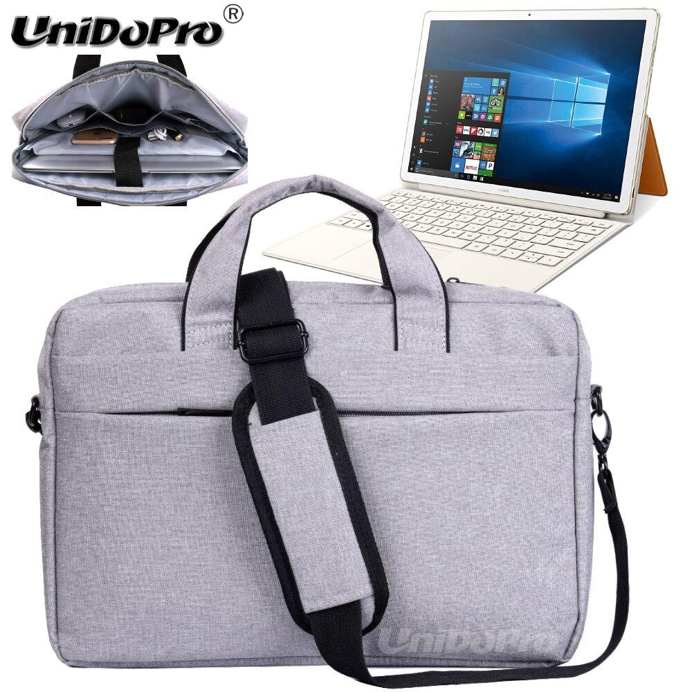 UNIDOPRO Waterproof Messenger Shoulder Bag Case for Huawei Matebook E HZ-W09 BL-W09 BL-W19 12-inch Ultrabook Tablet Sleeve Cover