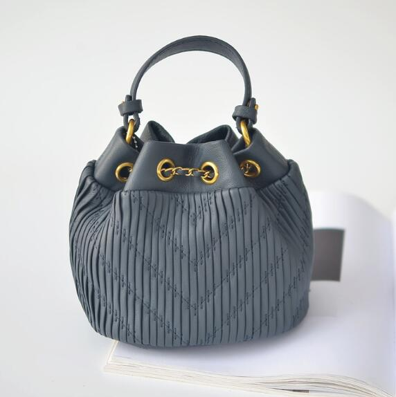 High quality sheepskin bag with water bucket, leather, single shoulder,High quality sheepskin bag with water bucket, leather, single shoulder,