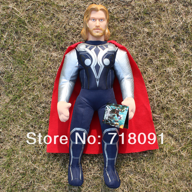 Wholesale,Free Shipping,Plush and Stuffed Toy Thor For Children Birthday Gifts,4 Styles Optional,40cm 10pcs/Lot