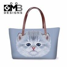 Latest Animal Cat Print Women Large Casual Bags Women Summer Beach Shoulder  Bags Girly Handbags Women 4d07c9b80d61