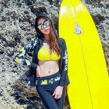 Men Women Swimwear Split Rash Guards Wetsuit Diving Suit Long Sleeve Sunscreen Swimsuit Jellyfish Clothing Snorkeling Suit Set