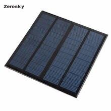 Eficiência de Mini Módulo do Carregador para o Telefone Zerosky Painel Solar 12 V 3 W Alta