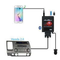 Moonet Bluetooth Adapter Car MP3 USB/AUX 3.5mm Stereo Auto Wireless Hands Free For Radio fit For Honda 2.4 Accord Civic Odyssey