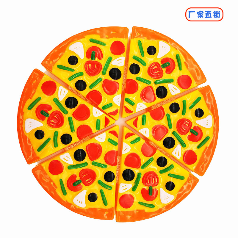 Toy Pizza Play House Cut Pizza Toy Cut Simulation Pizza Fruit Cut Cake