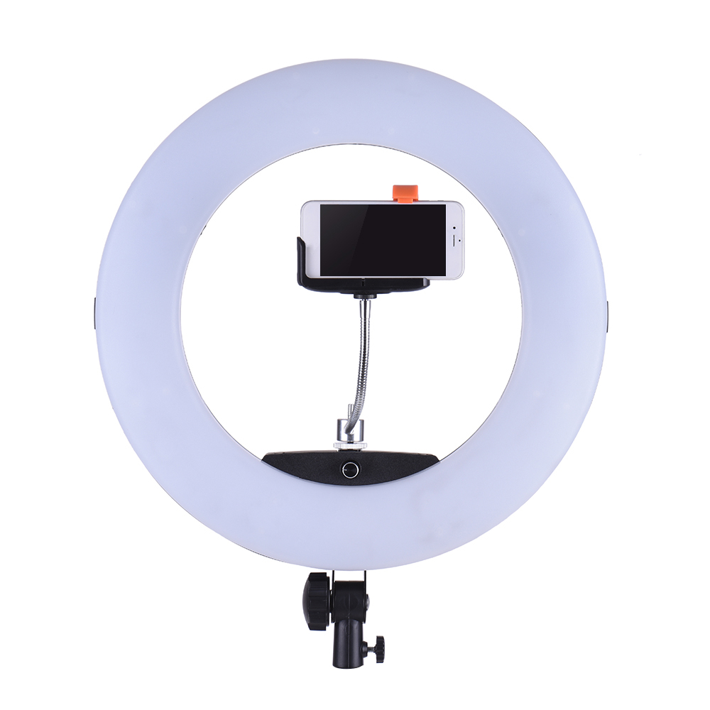 Yidoblo FE-480II Studio Ring Light 480 LED Video Light Lamp LCD - Kamera dan foto - Foto 5