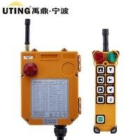 Uting F24 8D промышленных Радио Дистанционное управление 18 65 440V AC/DC Универсальный Беспроводной Управление для кран 1 передатчик и приемник 1