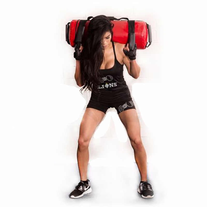Gym Weight Sand Power Bag Strength Training Fitness Exercise Cross-fit Sand Bag Body Building 5/10/15/20/25/30 kg