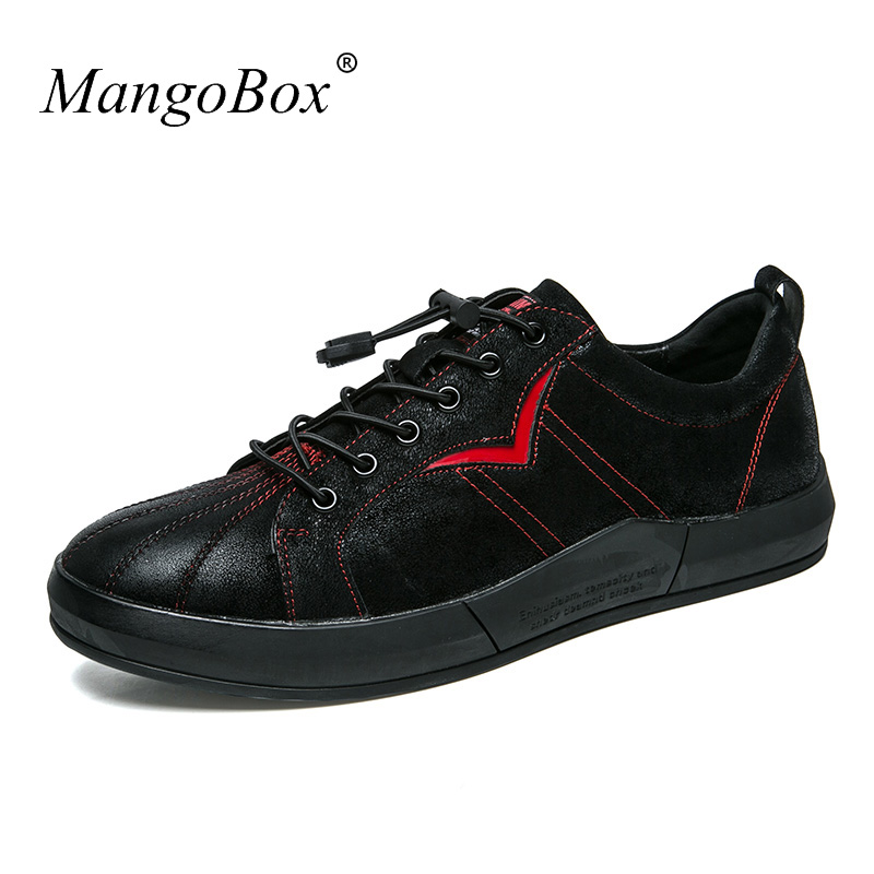 Luxury Brand Fashion Male Walking Shoes Comfortable Men Casual - Men's Shoes - Photo 1