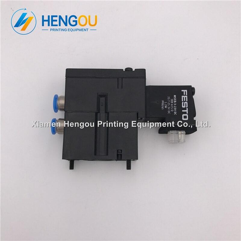1 pièce Hengoucn électrovanne MEBH-4/2-QS-4-SA M2.184.1111/05 pour SM102 CD102 SM52 PM52 machine