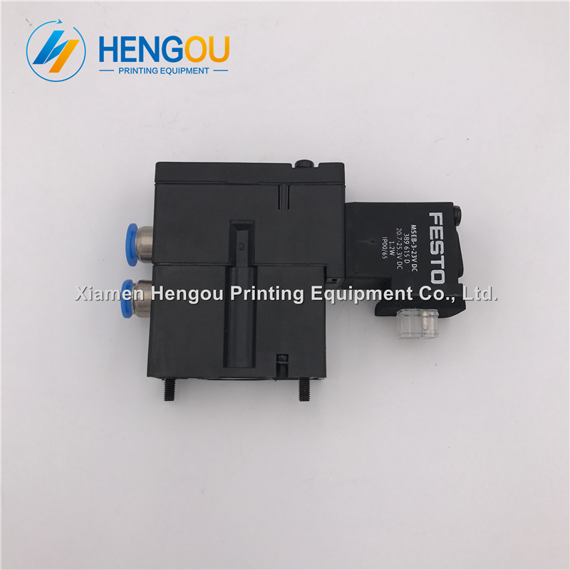 1 Stück Hengoucn Magnetventil Mebh-4/2-qs-4-sa M2.184.1111/05 Für Sm102 Cd102 Sm52 Pm52 Maschine