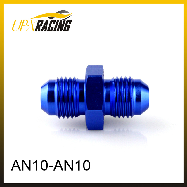 AN10 to AN10 aluminium oil hose fitting adapter oil cooler hose fitting