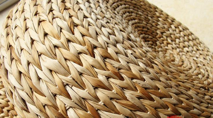 50*20 cm tappetino da yoga meditazione cuscini rattan sgabello