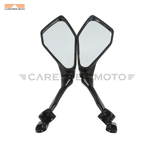 Black Motocycle Mirror Moto Re