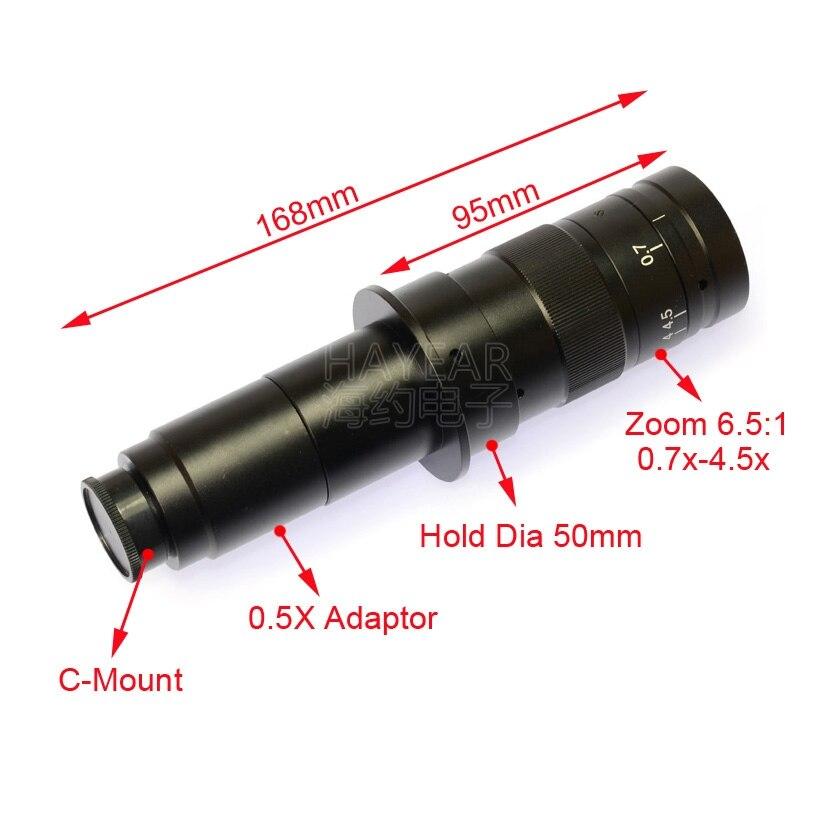 Agrandie 200 fois l'instrument de Diagnostic de réparation avec plusieurs ensembles de Microscope vidéo de VGA-200 mégapixels en ligne croisée - 3