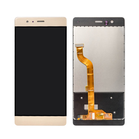 100PCS Lot Wholesale Mobile Phone Spare Parts For Huawei P9 LCD Screen Complete LCD Display Touch
