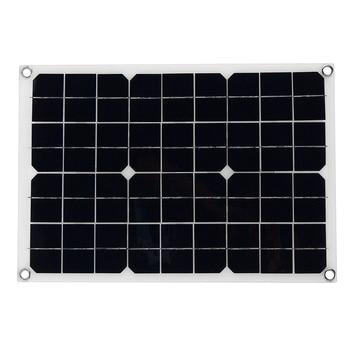 20W 12V 5V DC Waterproof Battery Solar Panel 3