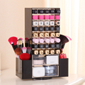 Acrylic Rotating lipstick holder case Luxury Cosmetic Organizer Makeup Storage Display Box   Stand Rack gift for women