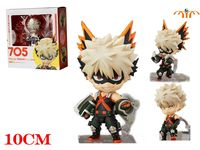 OHCOMICS 10CM Anime My Hero Academia/Boku no Hero Academia Bakugou Katsuki PVC Figure Doll Toy Garage Kit Decor Costume Gift