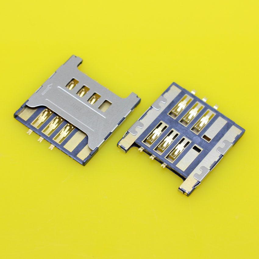 cltgxdd KA-034 Sim Card Reader Module Slot Tray Holder Socket Replacement Part For Samsung I9000 I9008 Galaxy