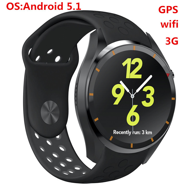 I3 Smart Watch Android 5.1 MTK6580 Google maps Heart rate monitor Pedometer G-sensor Wifi GPS for Android iOS phone smart baby watch q60s детские часы с gps голубые