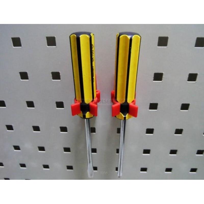 Steel Wall-Mounted Tool Parts Storage Box Garage Unit Shelving 10