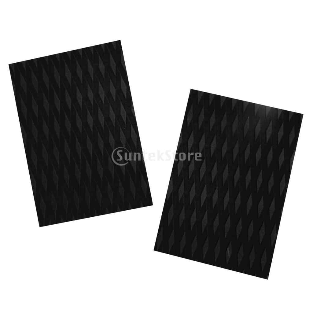 374a3051db 6 Pieces Diamond Grooved Non-slip EVA Traction Pad Surf SUP Deck Grip Mat  Tail Pad Trim Sheet for Surfboard Kiteboard Skimboard