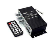 Power Amplifier A68USB12V USB SD Audio Receiver FM Decoding Card Electronic Mini Amplifier With Power Supply