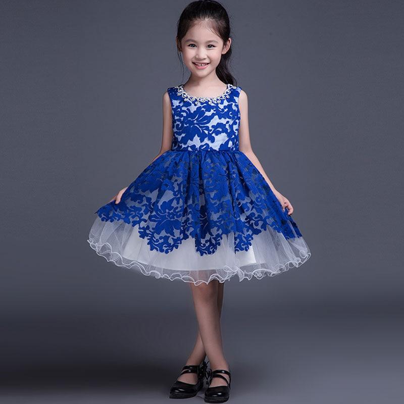 Magnífico Vestido Azul Para El Partido Regalo - Vestido de Novia ...
